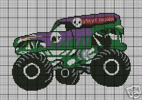 Monster Truck For Sale >> Grave Digger Crochet Pattern