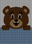 Teddy Bear Hanging On Crochet Pattern