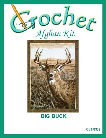Big Buck Crochet Afghan Kit