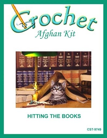 Hitting The Books Crochet Afghan Kit