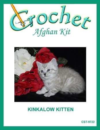 Kinkalow Kitten Crochet Afghan Kit