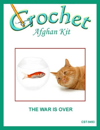 The War Is Over Crochet Afghan Kit