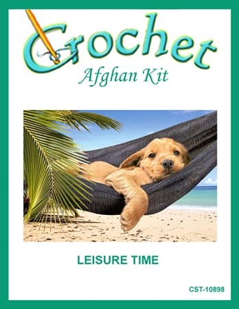 Leisure Time Crochet Afghan Kit