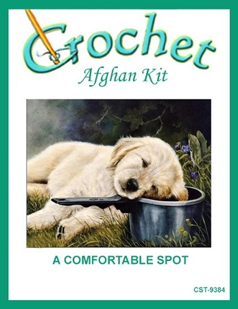 A Comfortable Spot Crochet Afghan Kit