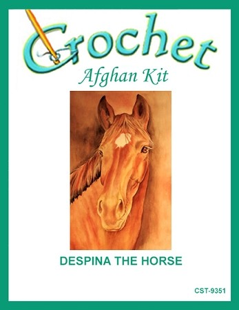 Despina The Horse Crochet Afghan Kit