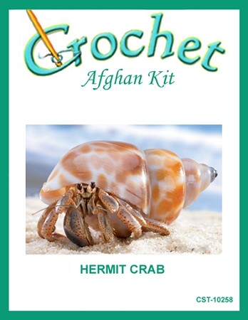 Hermit Crab Crochet Afghan Kit