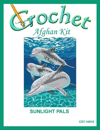 Sunlight Pals Crochet Afghan Kit