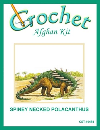 Spiney Necked Polacanthus Crochet Afghan Kit