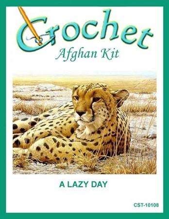A Lazy Day Crochet Afghan Kit