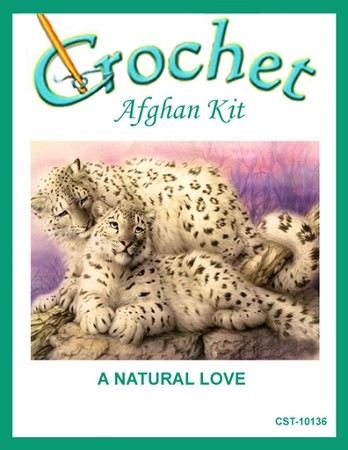 A Natural Love Crochet Afghan Kit