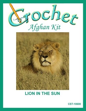 Lion In The Sun Crochet Afghan Kit