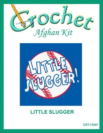 Little Slugger Crochet Afghan Kit