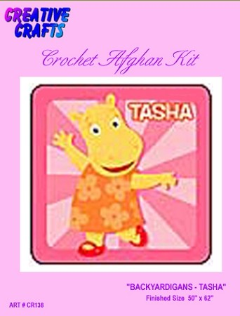 Backyardigans - Tasha Crochet Afghan Kit