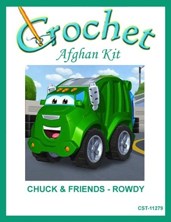 Chuck & Friends - Rowdy Crochet Afghan Kit