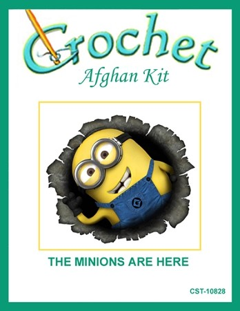 The Minions Are Here Crochet Afghan Kit
