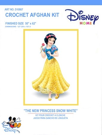 The New Princess Snow White Crochet Afghan Kit