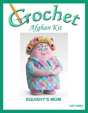 Squishy's Mom Crochet Afghan Kit