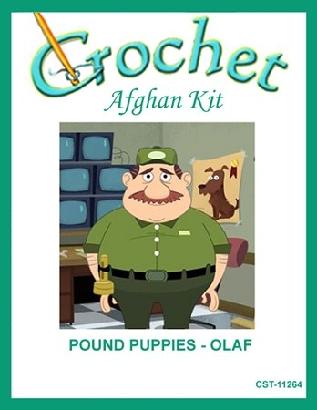 Pound Puppies - Olaf Crochet Afghan Kit
