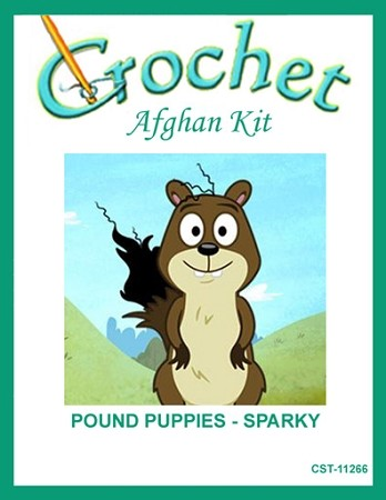 Pound Puppies - Sparky Crochet Afghan Kit