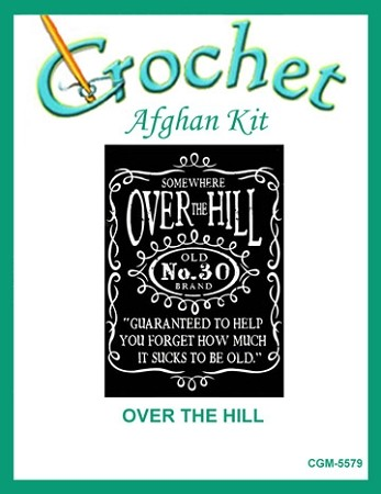 Over The Hill Crochet Afghan Kit