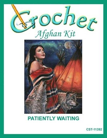 Patiently Waiting Crochet Afghan Kit