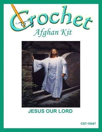 Jesus Our Lord Crochet Afghan Kit