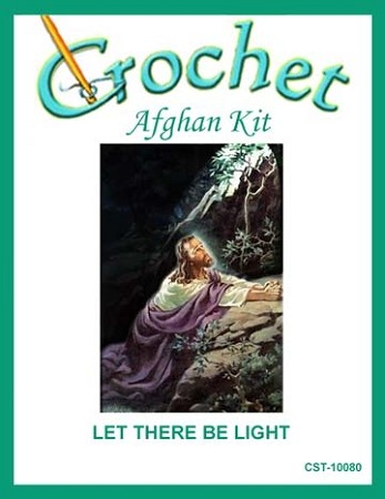 Let There Be Light Crochet Afghan Kit
