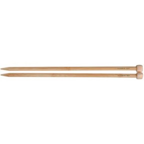 "Clover Bamboo Single Point Knitting Needles 13"" – 14"" Size - 8"