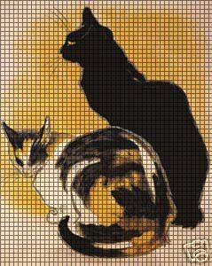 Two Cats Crochet Pattern