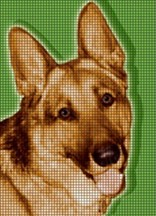 German Shepherd Crochet Pattern