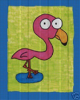 Flamingo Crochet Pattern
