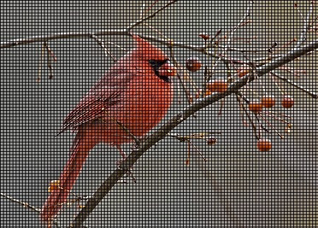 The Northern Cardinal Crochet Pattern