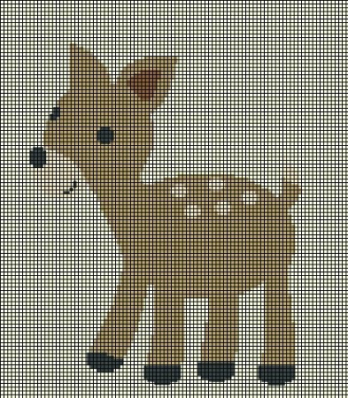Baby Deer Crochet Pattern