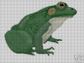 I'm A Toad Crochet Pattern