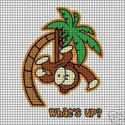 What's Up Monkey Crochet Pattern