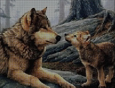 Mother and Pup Crochet Pattern