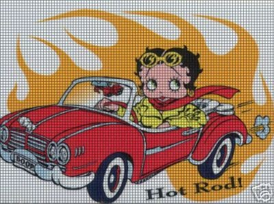 Baby Boop Hot Rod Crochet Pattern