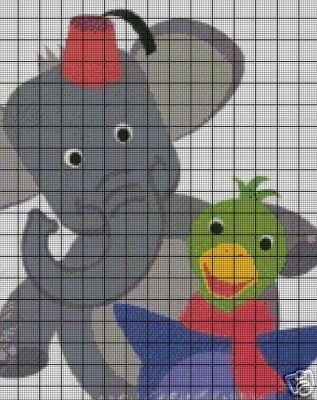 Baby Einstein Animals Crochet Pattern
