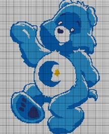 Care Bears Bed Time Bear Crochet Pattern