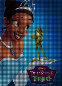 Princess Tiana Talks To Frog Crochet Pattern