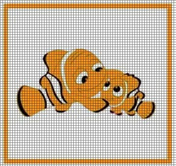 Crochet Fish Amigurumi: Clownfish - Free and quick pattern | 338x360