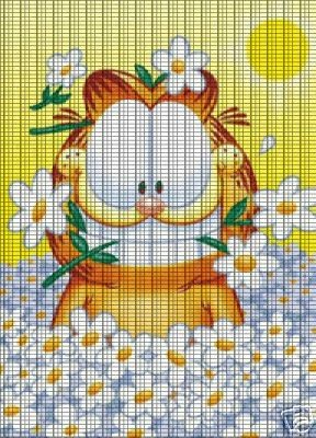 Daisy Cat Crochet Pattern