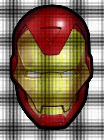Ironman Logo Crochet Pattern
