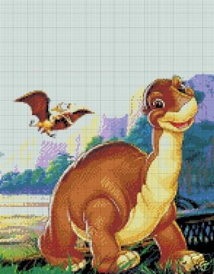 Land Before Time 3 Crochet Pattern