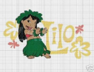 Lilo & Stitch - Lilo Crochet Pattern