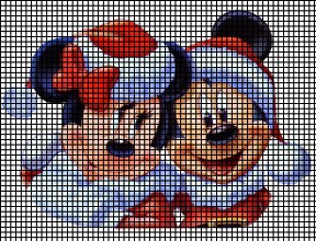 Mickey & Minnie Claus Crochet Pattern