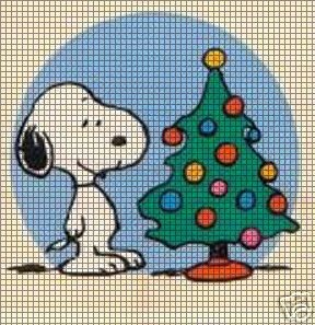 Snoopy Christmas Tree Crochet Pattern