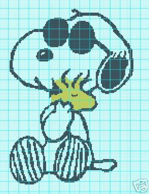 Snoopy Joe Cool Crochet Pattern