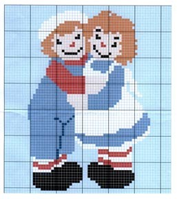 Raggady Ann & Andy Hugs Crochet Pattern