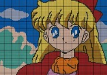 Sailor Moon Picture Crochet Pattern